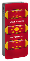 My Superhero Pills - Iron Man Portable Battery Charger