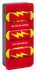 My Superhero Pills - The Flash Portable Battery Charger