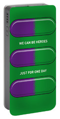 My Superhero Pills - The Hulk Portable Battery Charger