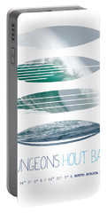 My Surfspots Poster-4-dungeons-cape-town-south-africa Portable Battery Charger