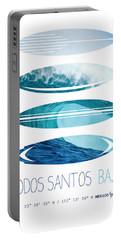 My Surfspots Poster-6-todos-santos-baja Portable Battery Charger
