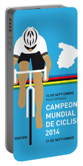 My Uci Road World Championships Minimal Poster 2014 Portable Battery Charger