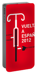 My Vuelta A Espana Minimal Poster Portable Battery Charger