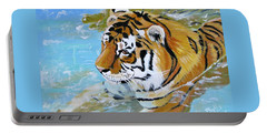 My Water Tiger Portable Battery Charger by Phyllis Kaltenbach
