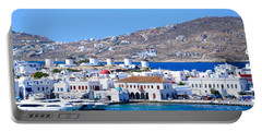 Mykonos Port Portable Battery Charger