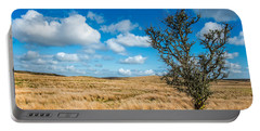 Portable Battery Charger featuring the photograph Mynydd Hiraethog by Adrian Evans