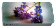 Myosotis  Forget Me Not Portable Battery Charger