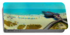 Portable Battery Charger featuring the photograph Myrtle Beach South Carolina by Alex Grichenko