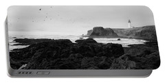 Mysterious Yaquina Head Portable Battery Charger
