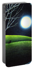 Mystery's Silence And Wonder's Patience Portable Battery Charger