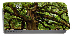 Mystical Angel Oak Tree Portable Battery Charger