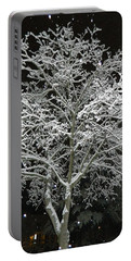 Mystical Winter Beauty Portable Battery Charger
