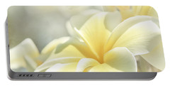Portable Battery Charger featuring the photograph Na Lei Pua Melia Aloha E Ko Lele by Sharon Mau