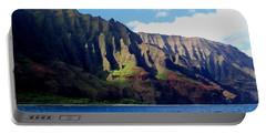 Na Pali Coast On Kauai Portable Battery Charger