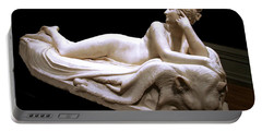 Portable Battery Charger featuring the photograph Canova's Naiad by Cora Wandel