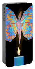 Naked Butterfly Lady Transformation Portable Battery Charger