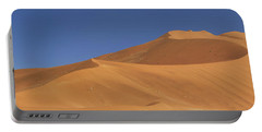 Namibian Desert Portable Battery Charger by Richard Garvey-Williams