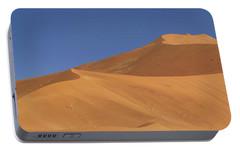 Namibian Desert Portable Battery Charger by Richard Garvey-Williams