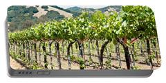 Napa Vineyard Grapes Portable Battery Charger