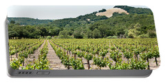 Napa Vineyard With Hills Portable Battery Charger