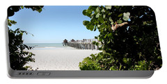 Naples Pier View Portable Battery Charger