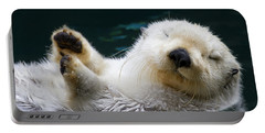 Napping On The Water Portable Battery Charger