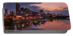 Nashville Evening Portable Battery Charger by Diana Powell