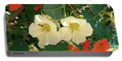 Nasturtiums Portable Battery Charger