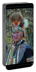 Native American Portrait Portable Battery Charger