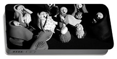 Portable Battery Charger featuring the photograph Nativity Earthenware by Ron White