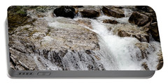 Backroad Waterfall Portable Battery Charger