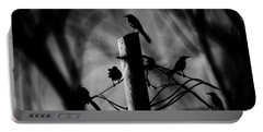 Portable Battery Charger featuring the photograph Nature In The Slums by Jessica Shelton