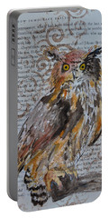 Nature Prevails Original Version Portable Battery Charger by Beverley Harper Tinsley
