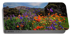 Portable Battery Charger featuring the photograph Nature's Bouquet  by Lynn Bauer