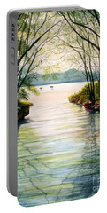 Nature's Cathedral Portable Battery Charger by Marilyn Smith