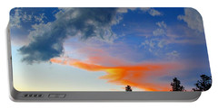 Portable Battery Charger featuring the photograph Nature's Palette by Barbara Chichester