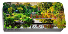 Portable Battery Charger featuring the photograph Nature's Reflections by Judy Palkimas