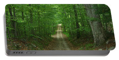 Portable Battery Charger featuring the photograph Nature's Way At James L. Goodwin State Forest  by Neal Eslinger