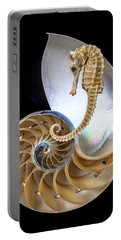 Nautilus With Seahorse Portable Battery Charger