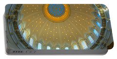 Naval Academy Chapel Side Dome Portable Battery Charger