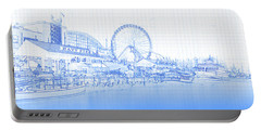 Navy Pier And Skyline Portable Battery Charger
