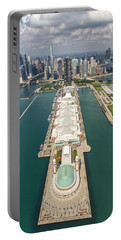 Navy Pier Chicago Aerial Portable Battery Charger