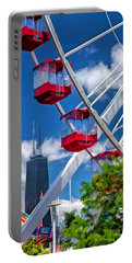 Chicago Navy Pier Ferris Wheel Portable Battery Charger