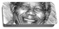 Nelson Mandela Portable Battery Charger