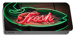 Neon Fish Portable Battery Charger