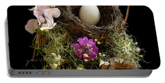 Nest Egg Portable Battery Charger by Barbara St Jean