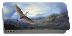 Nesting Egrets Portable Battery Charger
