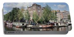 Netherlands, Amsterdam, Intersecting Portable Battery Charger