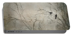 Nevermore... Portable Battery Charger by Amy Weiss