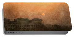 New Delhi Sunset Portable Battery Charger